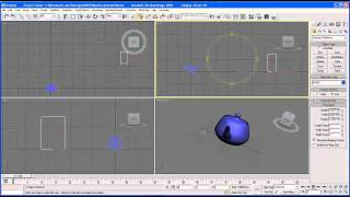 3Ds Max tutorial 3 Interface and Viewports