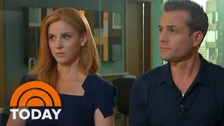 ?Suits? Stars Sarah Rafferty And Gabriel Macht Talk New Season, Royal Wedding And More | TODAY
