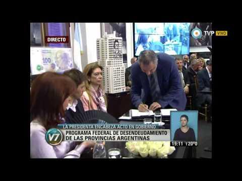Visión 7 - Crean la secretaría nacional de Acceso al Hábitat