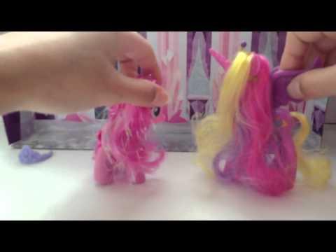 Как сделать прическу у пинки пай