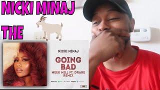 NICKI MINAJ - BARBIE GOING BAD (MEEK MILL AND DRAKE DISS) | REACTION
