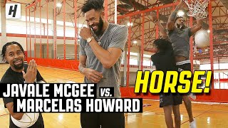 "JaVale McGee vs. Marcelas Howard | King of ""H.O.R.S.E"""