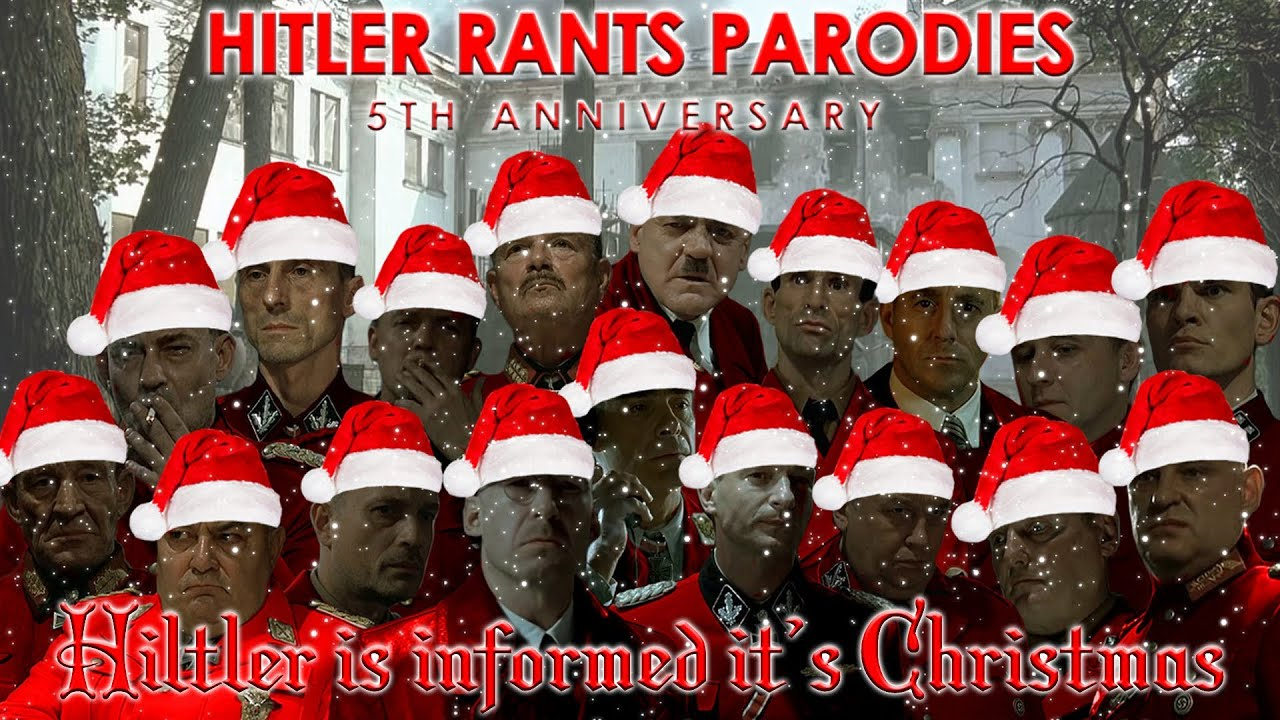 Hitler is informed it's Christmas