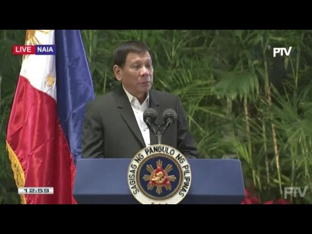 Duterte on South China Sea dispute: It's not time for agression