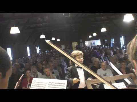 Jonathan conducting Mozart   Eine Kleine Nachtmusik, op.525, SPIMA , June 26, 2011.MPG Music Videos