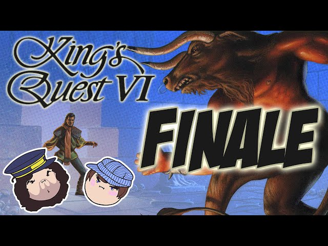 King's Quest VI: Finale - PART 24 - Steam Train