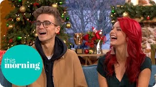 Joe Sugg Refuses to Deny Strictly Dating Rumours | This Morning