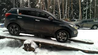 Kia Sportage  Off Road
