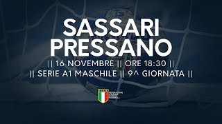 Serie A1M [9^]: Sassari - Pressano 22-18