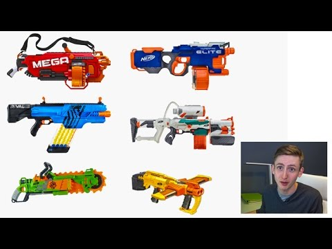 Coop's Speculation on Upcoming 2016 Nerf Blasters