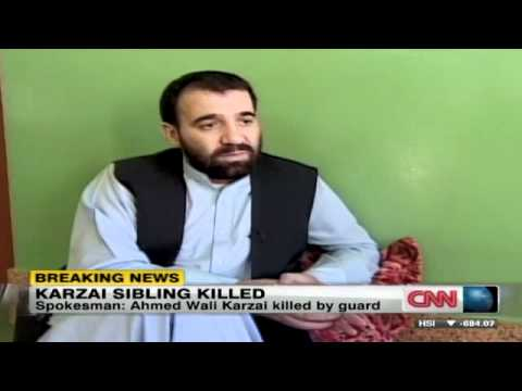 Afghan President Karzai's Half-Brother Assassinated