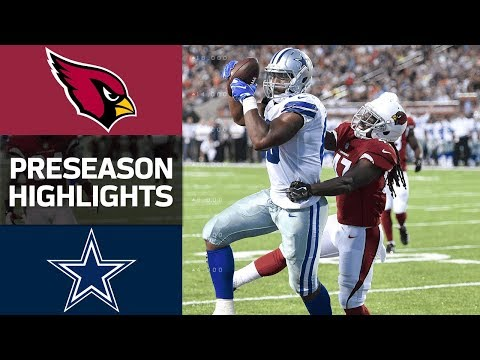 Cardinals Vs Cowboys Nfl Hall Of Fame Game Highlights