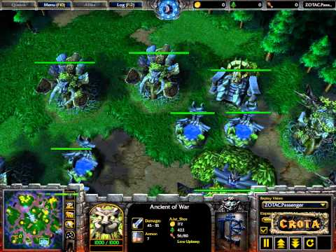 Orc Worcker Orc) vs Shot (NE)  Showcase Match - WarCraft 3 - WC462