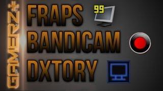 [Gamerz+] Nejlepší program na nahrávání videí CZ/SK | Fraps vs. Bandicam vs. Dxtory | 1080p