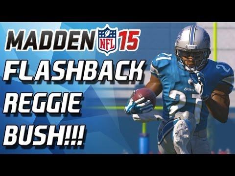 Madden 15 Ultimate Team - FLASHBACK REGGIE BUSH DEBUT! - MUT 15