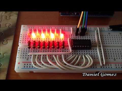 Proyecto Con Registro 74HC595 Y Arduino (Proyecto 1)