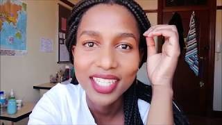 A DAY IN THE LIFE: UCT MEDICAL STUDENT | VLOG 18: TRYING OUT MAKEUP | South African YouTuber