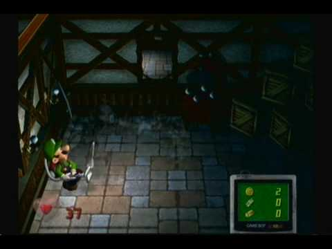 Luigi's Mansion Review (Gamecube)