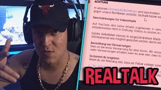 Video gesperrt? 🤔 Ansage an YouTube! | MontanaBlack Realtalk