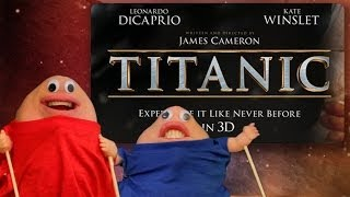 Titanic 3D - Titanic 3D movie review parody - Two Chins in Hollywood