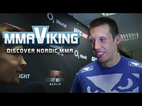Magnus Jycken Cedenblad UFC Berlin Post Fight Interview