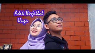 Adek Berjilbab Ungu + Balasan cover by Alfiromi & Salma Nabiilah