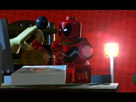 LEGO Marvel Super Heroes - Complete Deadpool Red Brick Guide & How to Unlock Deadpool