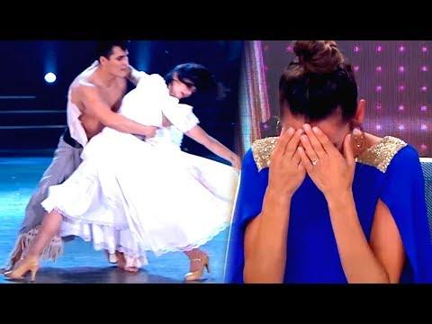 La emotiva coreografía de Griselda Siciliani en la pista del Bailando