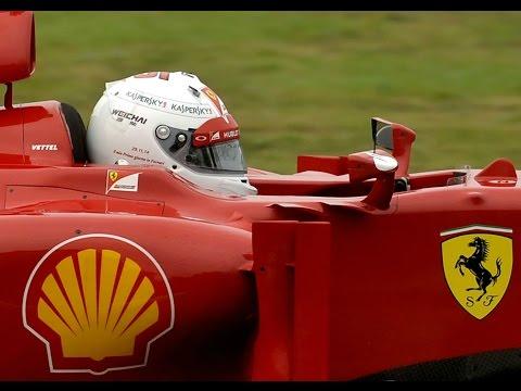 Sebastian Vettel se estrena con Ferrari