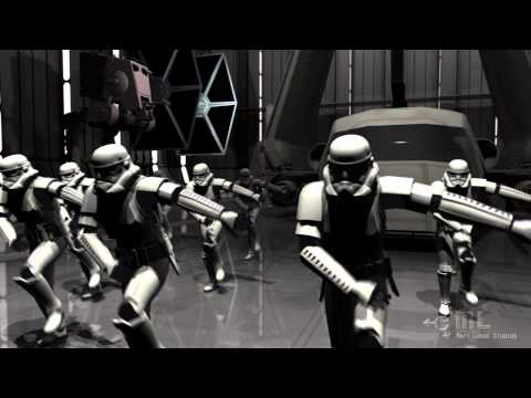 Stormtrooper Shuffle - Star Wars Parody (everyday I'm Shuffling) video