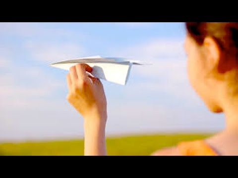 Does This AMAZING Paper Airplane Toss Defy Science? | What's Trending Now