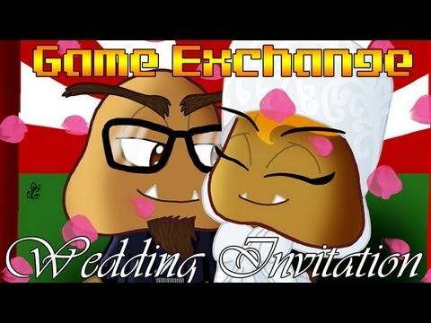 You're Invited! A Wedding Invitation from Gaijin Goomba