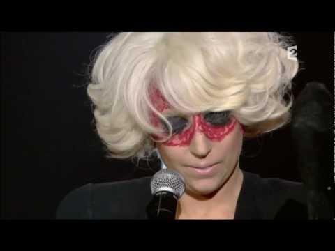 Lady GaGa French TV 2009 Eh Eh, Ragtime, Poker Face Music Videos