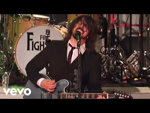 Foo Fighters – This Is A Call (Live on Letterman)