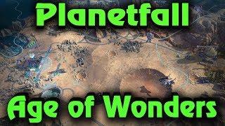 Новая игра, как Герои Меча и Магии - Age of Wonders: Planetfall