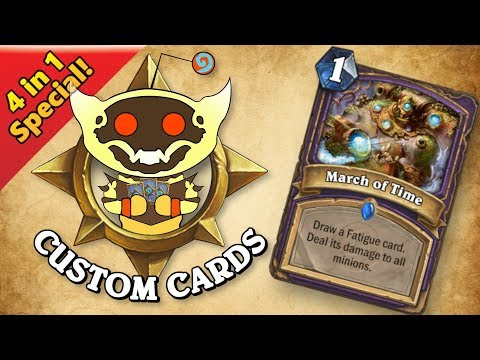 TOP CUSTOM CARDS OF THE WEEK #36 | Card Review | Hearthstone