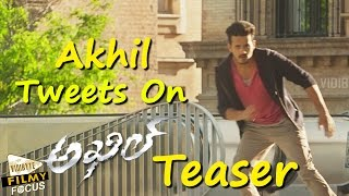 akkineni-akhil-tweets-on-akhil-latest-movie-teaser-sayesha-saigal-v-v-vinayak