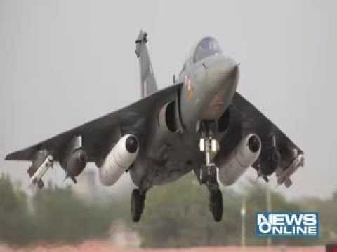 Indian Air Force Get New Fighter Plane'tejas' video