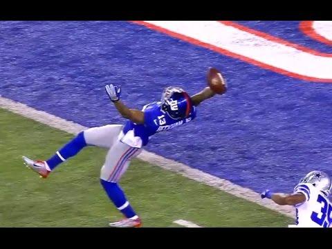 Odell Beckhams Catch NY Giants WR Odel Beckhams Catch