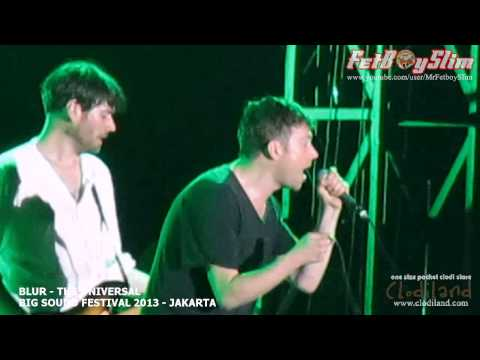 BLUR - THE UNIVERSAL live at Big Sound Festival Jakarta, Indonesia 2013