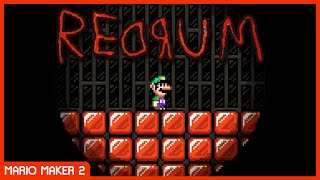 THE RED ROOM (MUCH SPOOPY) // Mario Maker 2 Troll Levels