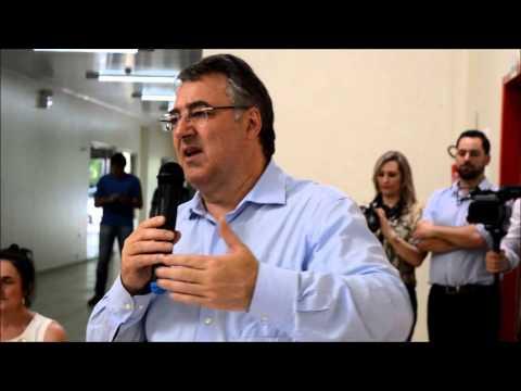 Discurso do governador Raimundo Colombo na Escola Rosina Nardi