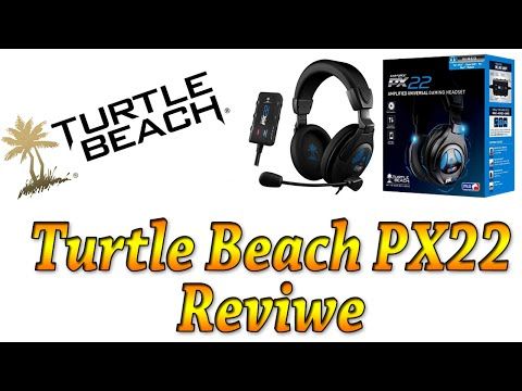 Turtle Beach PX22 Headset Review (PS4. XBOX ONE. PC. PS4. XBOX 360)
