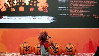 Lomba Fashion show Halloween #Chucky