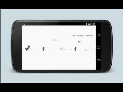 Flappy TRex - Running T-Rex game for Android.