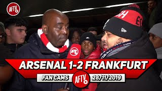 Arsenal 1-2 Frankfurt | The Board Are Mugs If Emery Isn't Sacked Today! (Troopz)
