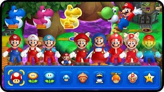 New Super Mario Bros. U: All Power-Ups
