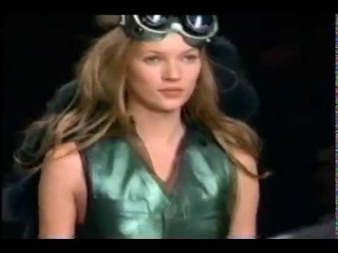 Kate Moss Catwalk Compilation Video