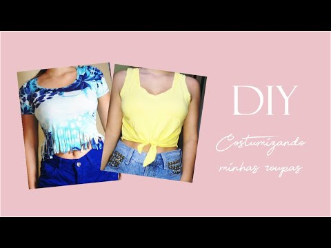 DIY: Customizando blusas | Aline Rui