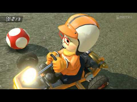 Wii U - Mario Kart 8 - Amy Joins SDCC Online Tournament